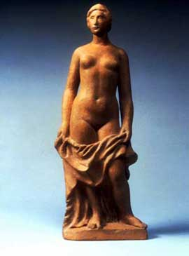 Aristide Maillol, Phyne, 1903, a Millennium Gift of the Sara Lee Foundation to the Smart Museum of Art