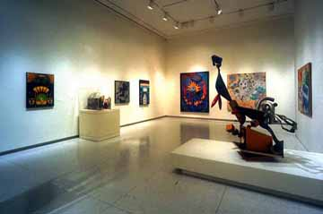 A View of the Contemporary Galleries at the Smart Museum of Art